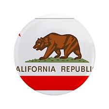 "Beloved California Flag Moder 3.5"" Button"