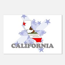 All Star California Postcards (Package of 8)
