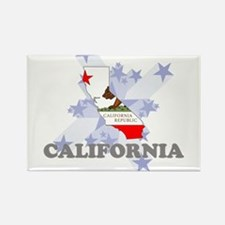 All Star California Rectangle Magnet
