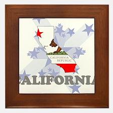 All Star California Framed Tile