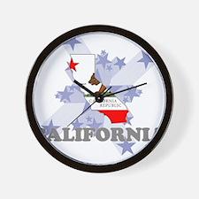 All Star California Wall Clock