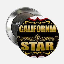 "California Star Gold Badge Se 2.25"" Button"