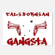 Californian Gangsta Postcards (Package of 8)