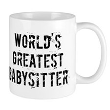 Worlds Greatest Babysitter Mug
