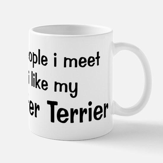 I like my Manchester Terrier Mug