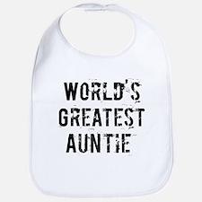Worlds Greatest Auntie Bib