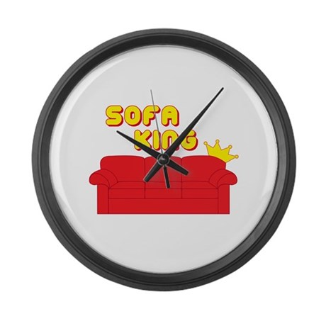 Sofa King Large Wall Clock