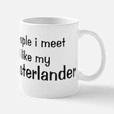 I like my Large Munsterlander Mug