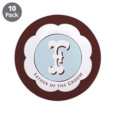 """Market Father of the Groom 3.5"""" Button (10 pack)"""