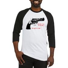 revolver black Baseball Jersey