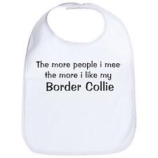 I like my Border Collie Bib