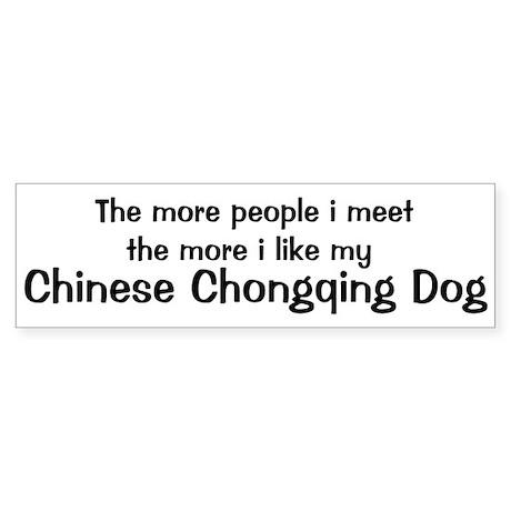 I like my Chinese Chongqing D Sticker (Bumper 10 p