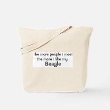 I like my Beagle Tote Bag