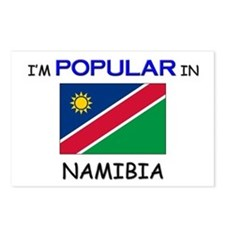 I'm Popular In NAMIBIA Postcards (Package of 8)