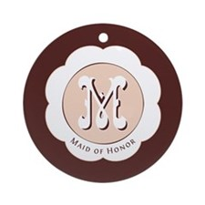 Market Maid of Honor Ornament (Round)