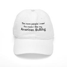 I like my American Bulldog Baseball Cap