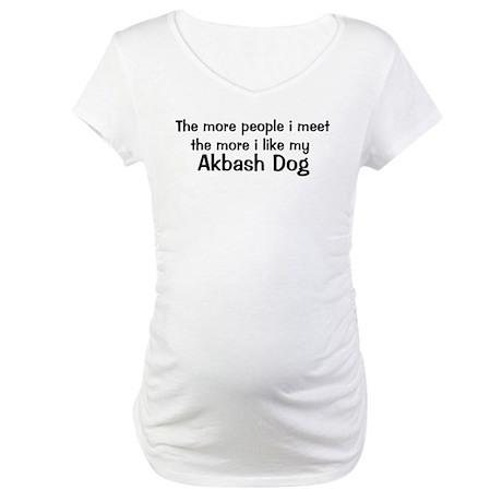 I like my Akbash Dog Maternity T-Shirt