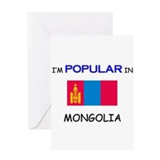 I'm Popular In MONGOLIA Greeting Card