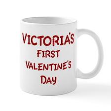 Victorias First Valentines Da Mug