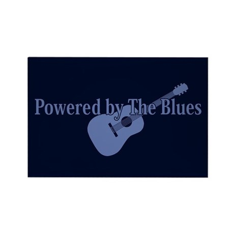 Blues Power Rectangle Magnet (100 pack)