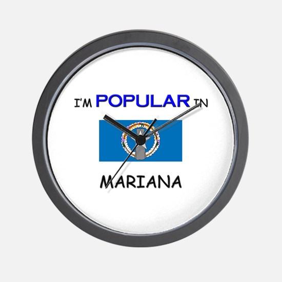 I'm Popular In MARIANA Wall Clock