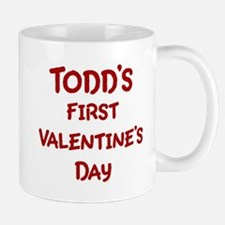 Todds First Valentines Day Mug