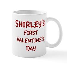 Shirleys First Valentines Day Mug