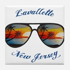 New Jersey - Lavallette Tile Coaster