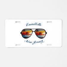 New Jersey - Lavallette Aluminum License Plate