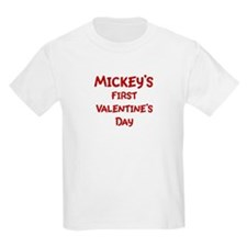 Mickeys First Valentines Day T-Shirt
