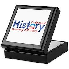 I Witnessed History Keepsake Box