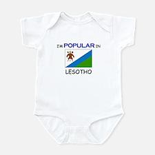 I'm Popular In LESOTHO Infant Bodysuit