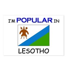 I'm Popular In LESOTHO Postcards (Package of 8)