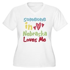 Someone in Nebraska Loves Me T-Shirt