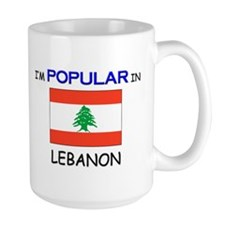I'm Popular In LEBANON Mug
