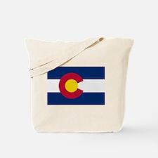Beloved Colorado Flag Modern Tote Bag