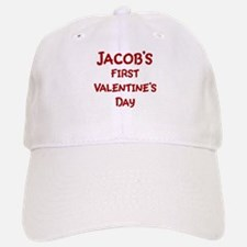 Jacobs First Valentines Day Baseball Baseball Cap