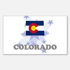 All Star Colorado Rectangle Decal