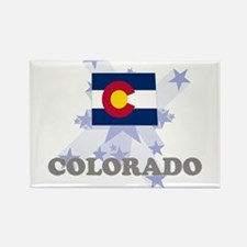 All Star Colorado Rectangle Magnet