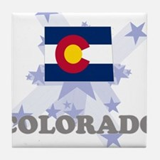 All Star Colorado Tile Coaster