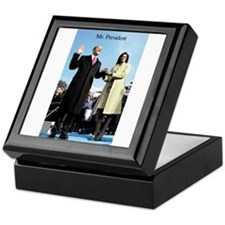 Obama Inauguration Keepsake Box