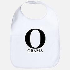Black Obama O Bib
