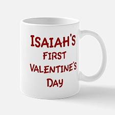 Isaiahs First Valentines Day Mug