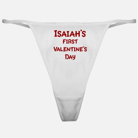 Isaiahs First Valentines Day Classic Thong