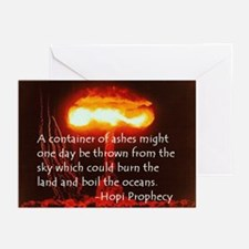 Hopi Prophecy - Ashes Greeting Cards (Pk of 10
