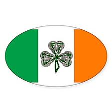 Irish American, Ireland Oval Decal