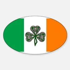 Irish American, Ireland Oval Decal