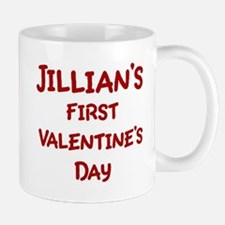 Jillians First Valentines Day Mug
