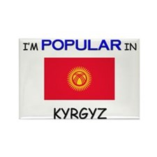I'm Popular In KYRGYZ Rectangle Magnet