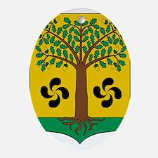 Cool Euskadi Oval Ornament